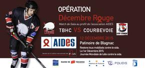 """Décembre Rouge : Les """"Belougas"""" soutiennent l'association AIDES"""