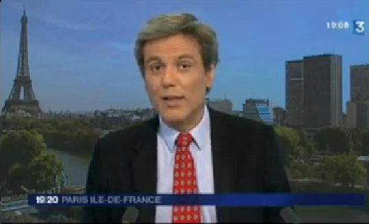Reportage de France 3 IDF sur le chantier de Grigny
