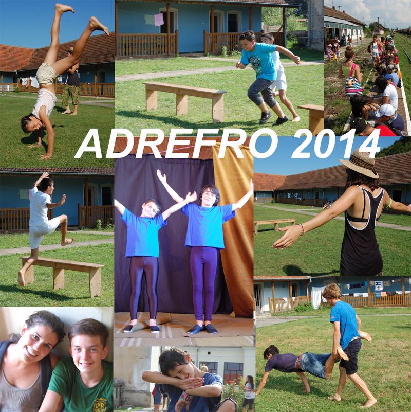 enfants du camp ADEFRO 2014