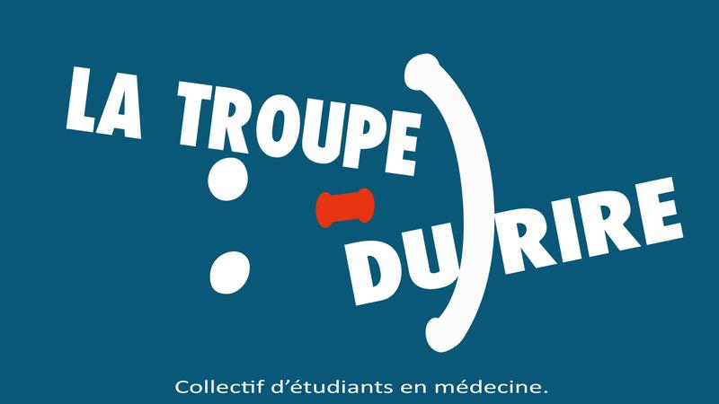 Logo collectif étudiants en médecine La Troupe du RIRE