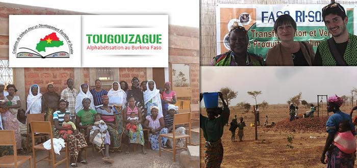 Tougouzague : Alphabétisation au Burkina Faso