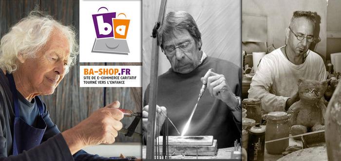 www.ba-shop.fr : Site de e-commerce caritatif tourné vers l'enfance