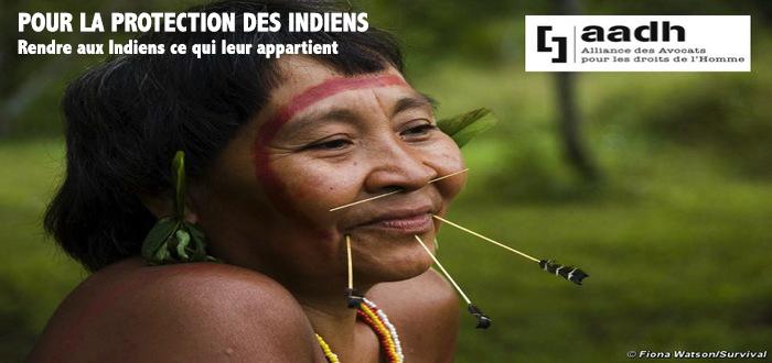 La protection des Tribus Indiennes : Rendre aux Indiens ce qui leur appartient
