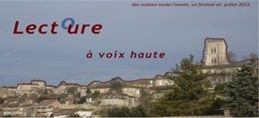 """Festival Lectoure à voix haute : thème du premier festival, """"Goût d'enfance""""."""