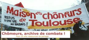Chômeurs, archives de combats : Pour un site ressources de Partage et du CCSC