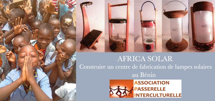 Africa Solar : Formation et creation d'emploi grace au soleil