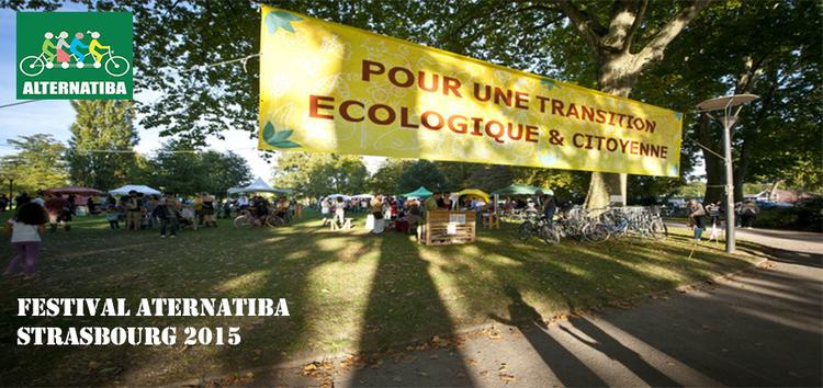 Festival Alternatiba Strasbourg 2015 : Changeons le système, pas le climat!