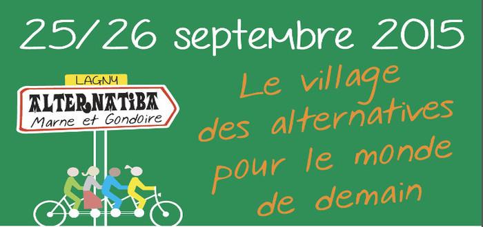Alternatiba Marne et Gondoire : Soutenez le village des alternatives !
