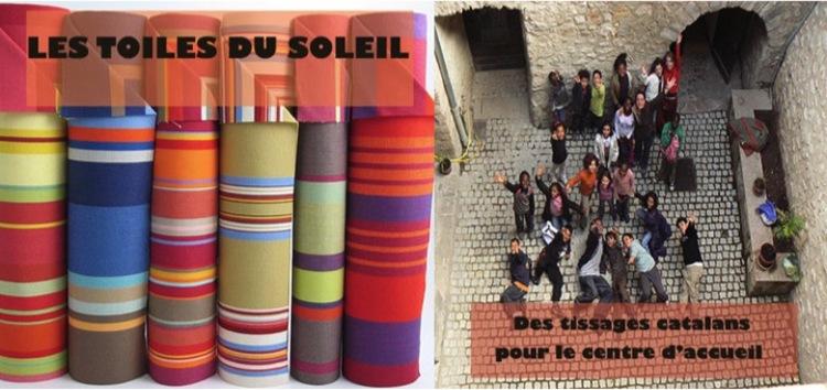 LES TOILES DU SOLEIL : des tissages catalans pour le centre d'accueil