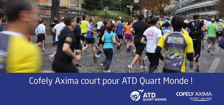 Nous courons pour ATD Quart Monde : Ensemble, luttons contre la misère !