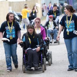 Personne handicapée et accompagnateurs